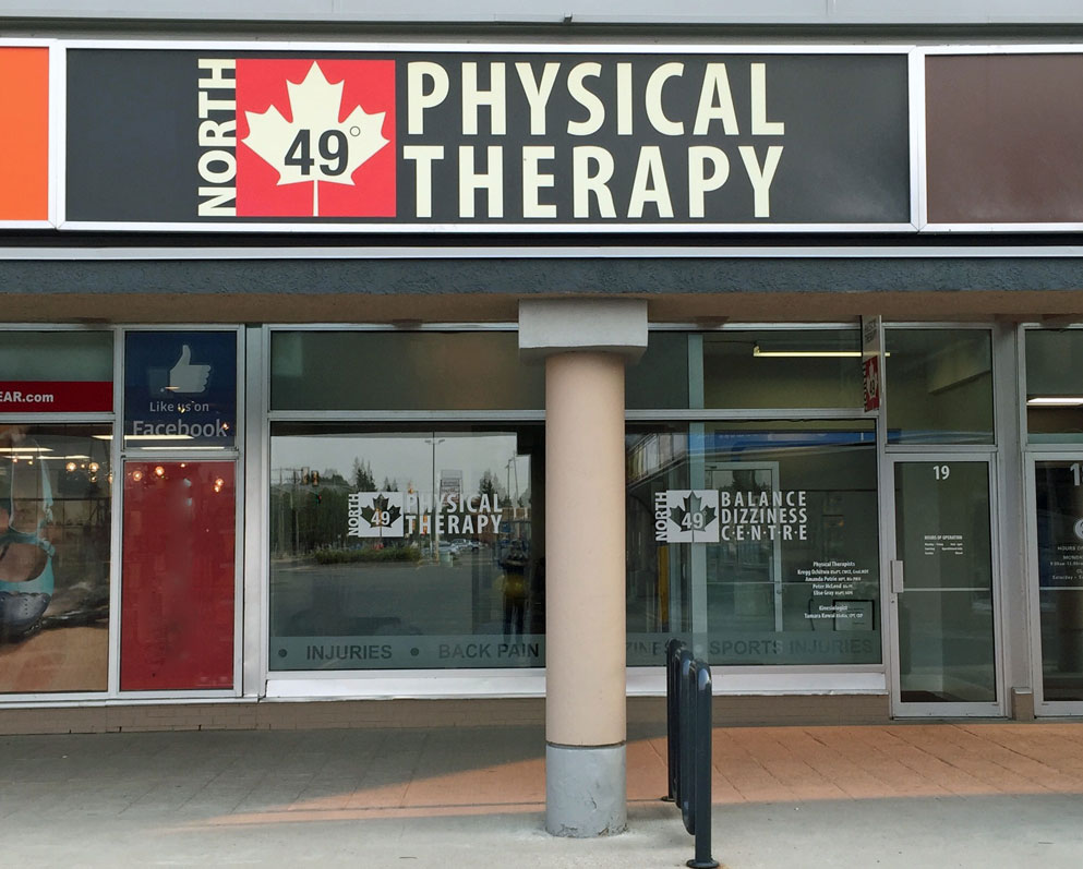 Location of North 49 Physiotherapy Office in Grosvenor Park Centre #19 – 2105 8th Street East